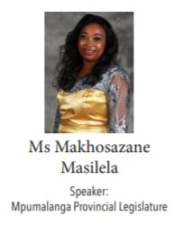 Makhosozane Masilela - Mpumalanga Press